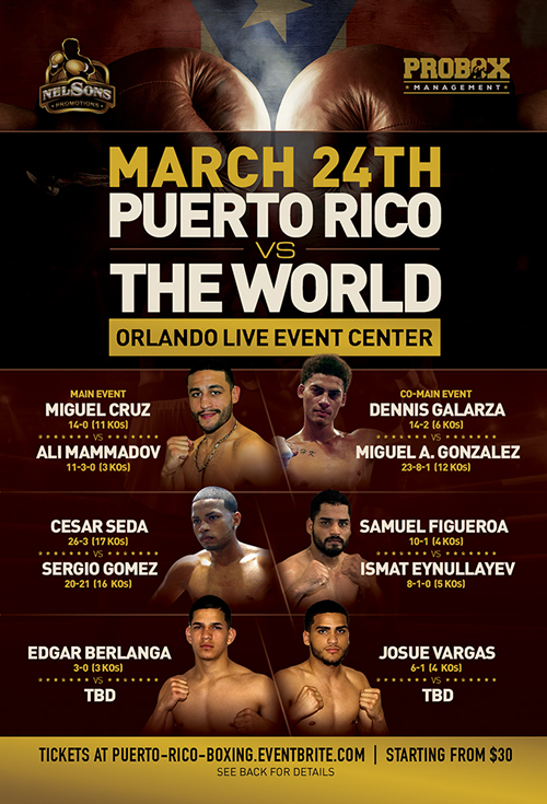 Puerto Rico versus the WORLD