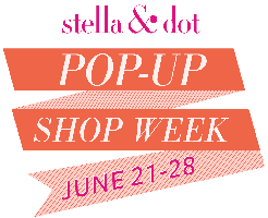 Stella & Dot Pop Up Shop at Sandy Conviser and Camp Headquarters