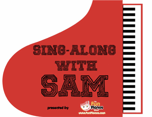 Piano Logo for Sing Along Sam