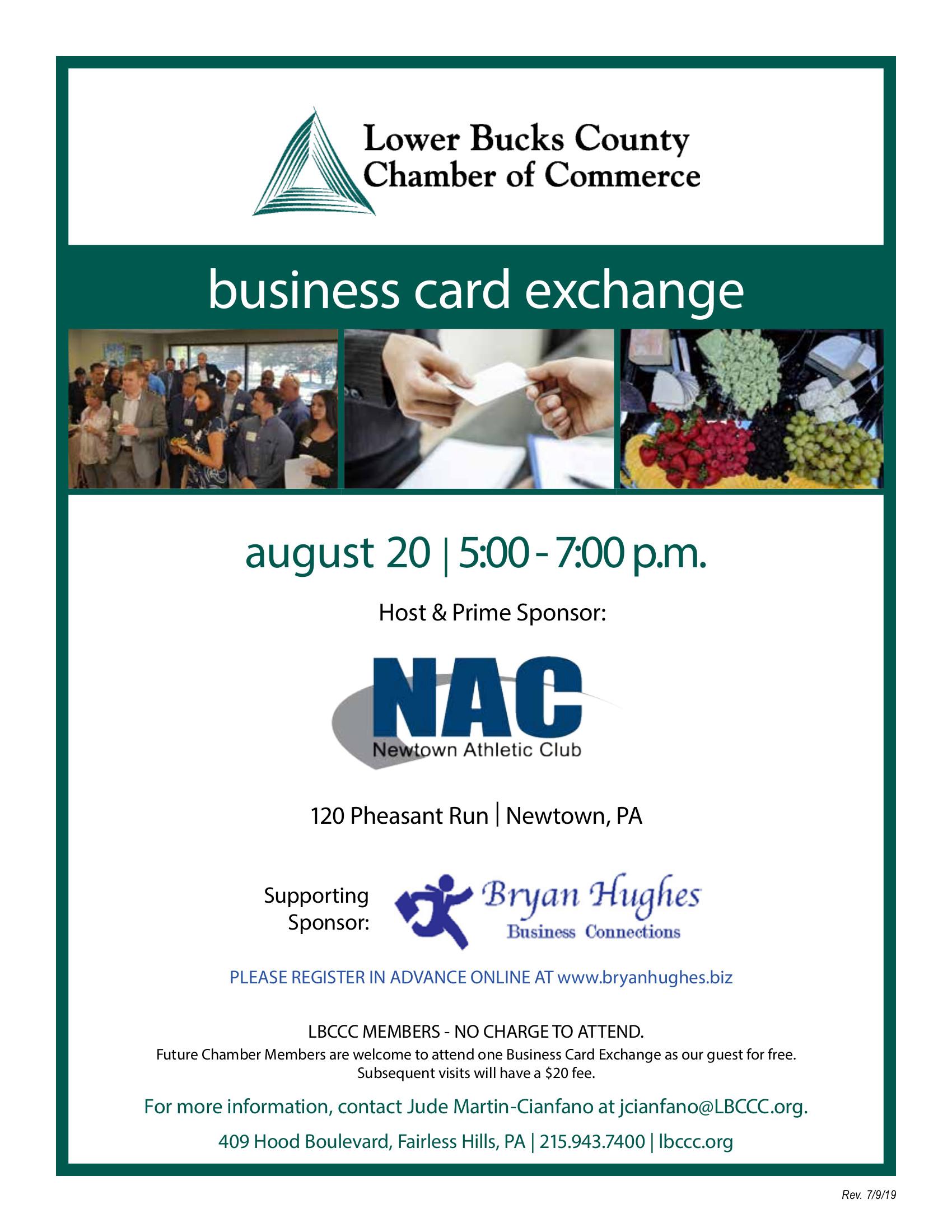 Card Exchange at the NAC