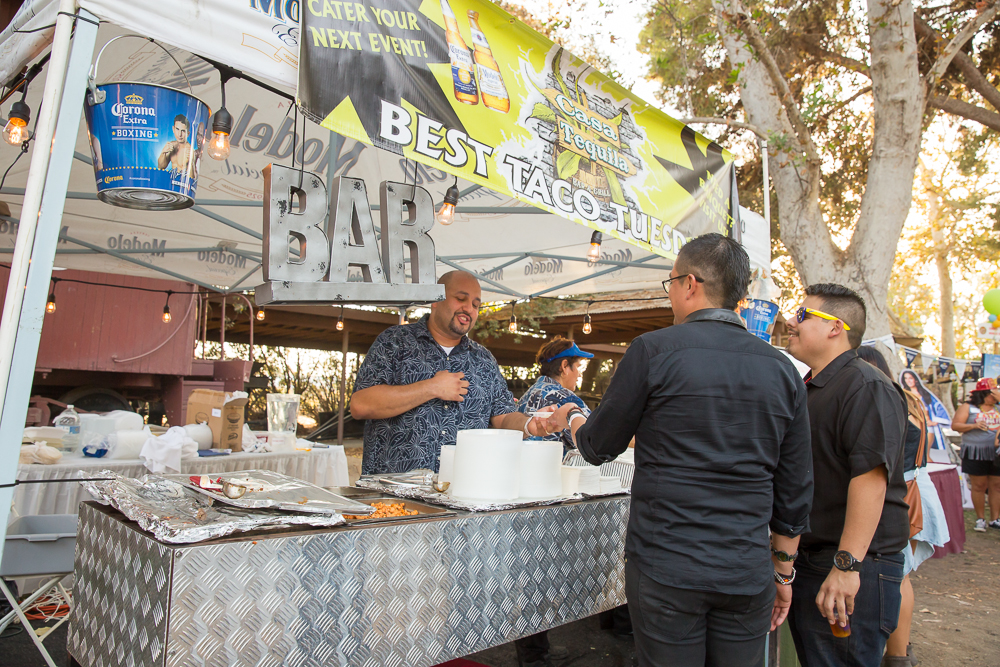 Over 60 breweries attend each year.