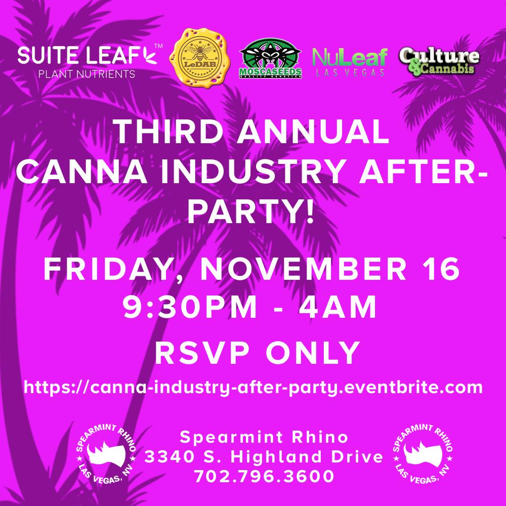 Suite Leaf After Party Las Vegas 2018