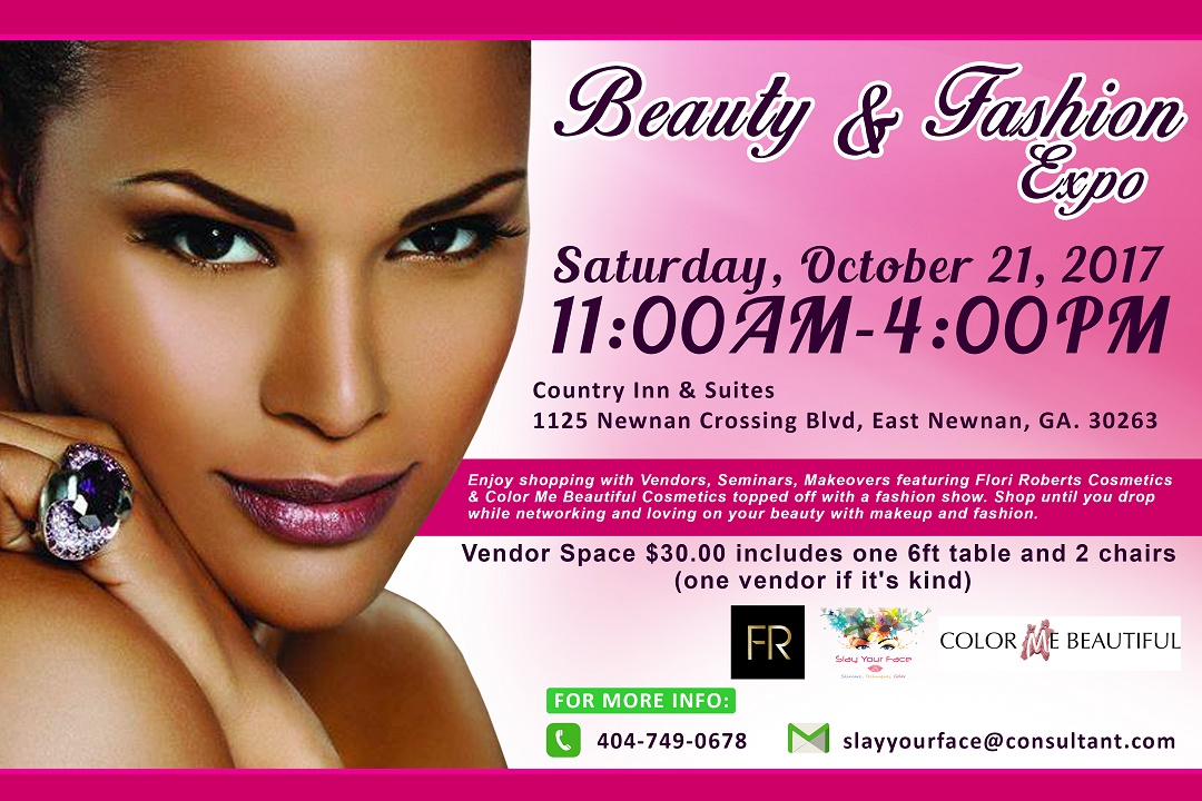 "Beauty & Fashion Expo ""ITS ALL ABOUT YOU"" Tickets, Sat"
