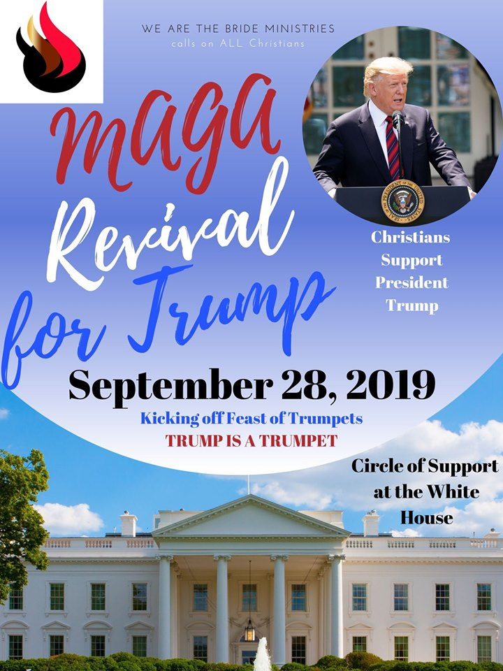 MAGA Revival for Trump 2019 at the White House - Christian