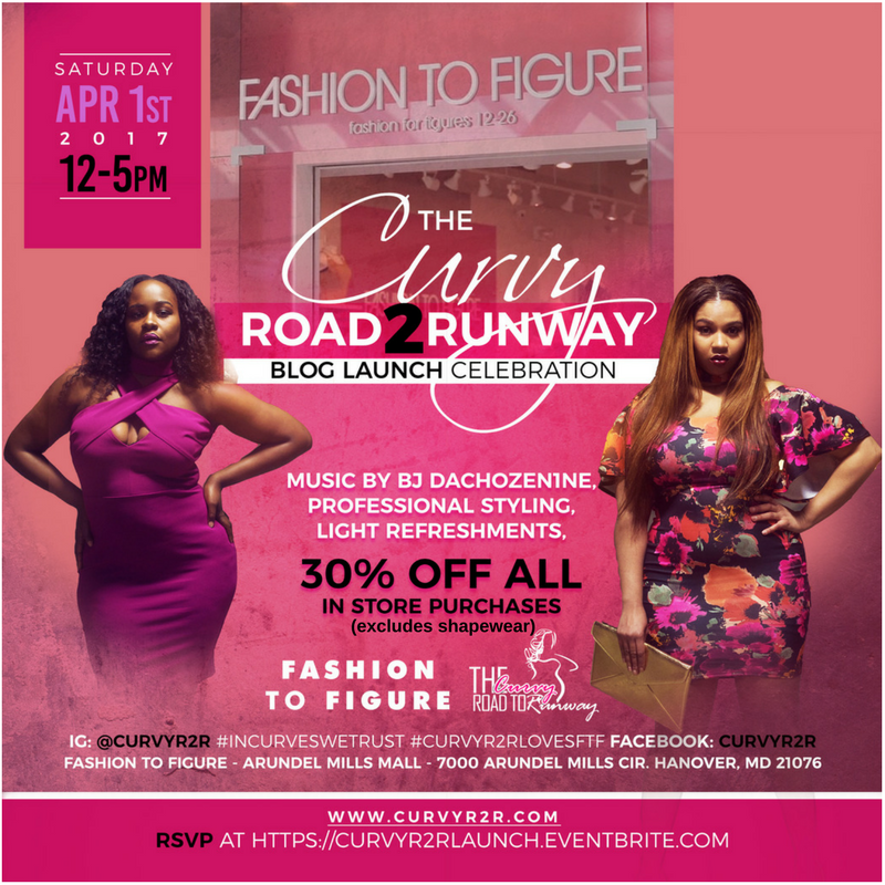 The Curvy Road to Runway Event Flyer