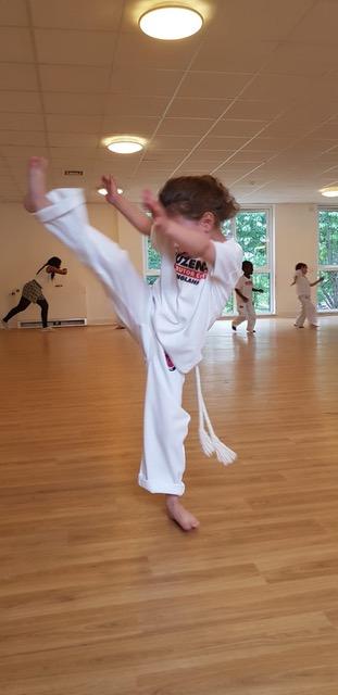 Capoeira Demonstration Children