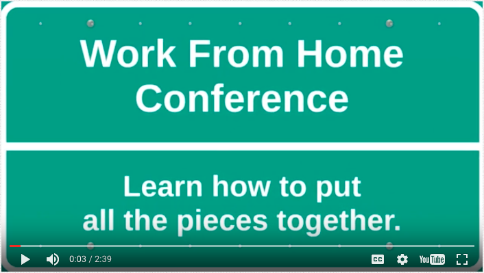 Work From Home Conference Video
