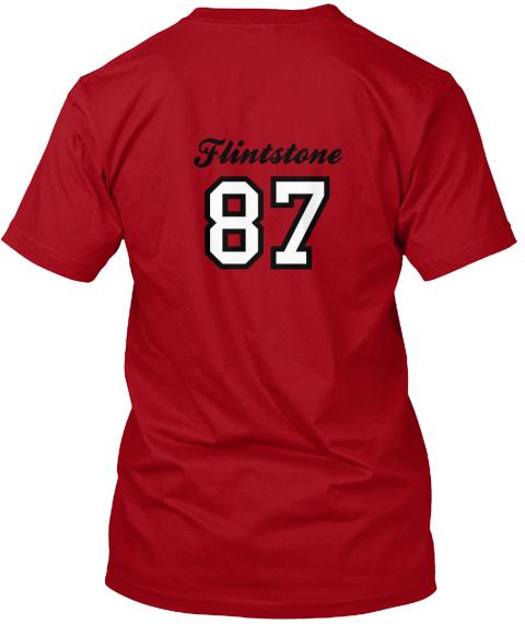 1987 Alumni t-shirt back