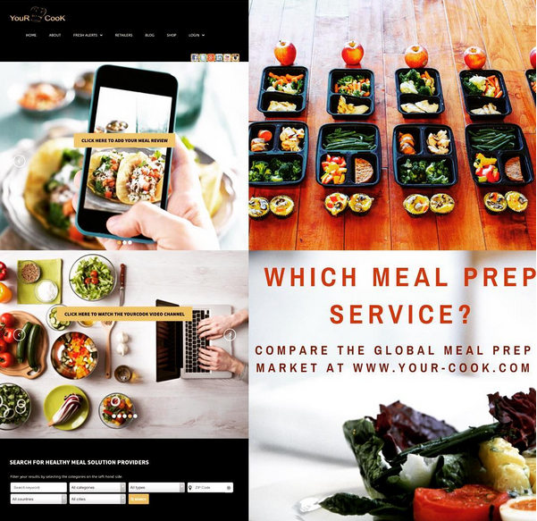 YouRCooK - Meal Prep and Meal Kit Services