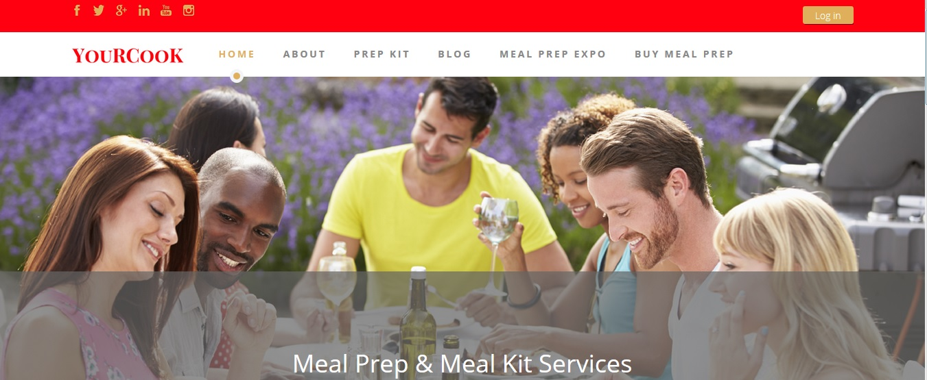 YouRCooK Meal Prep and Meal Kit Site