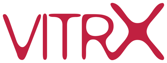 Virtx logo and Internet link