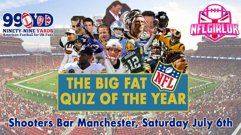 Big Fat NFL Quiz Of The Year