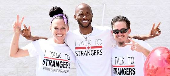 I TALK TO STRANGERS Foundation