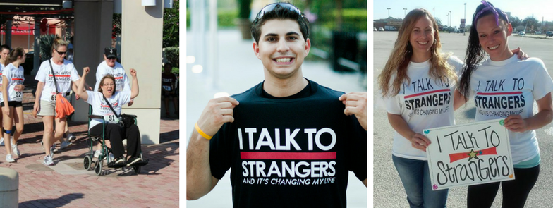 I TALK TO STRANGERS Foundation volunteers brevard county events