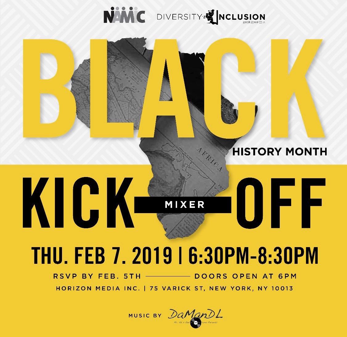 2019 Black History Month Kick Off