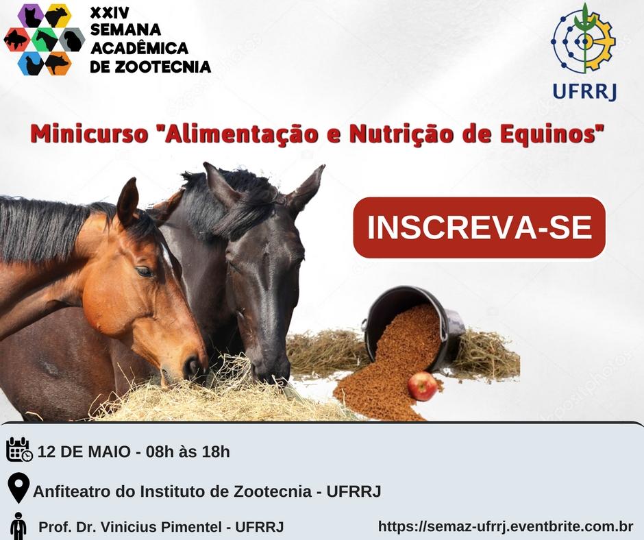 Alimentação e Nutrição de Equinos