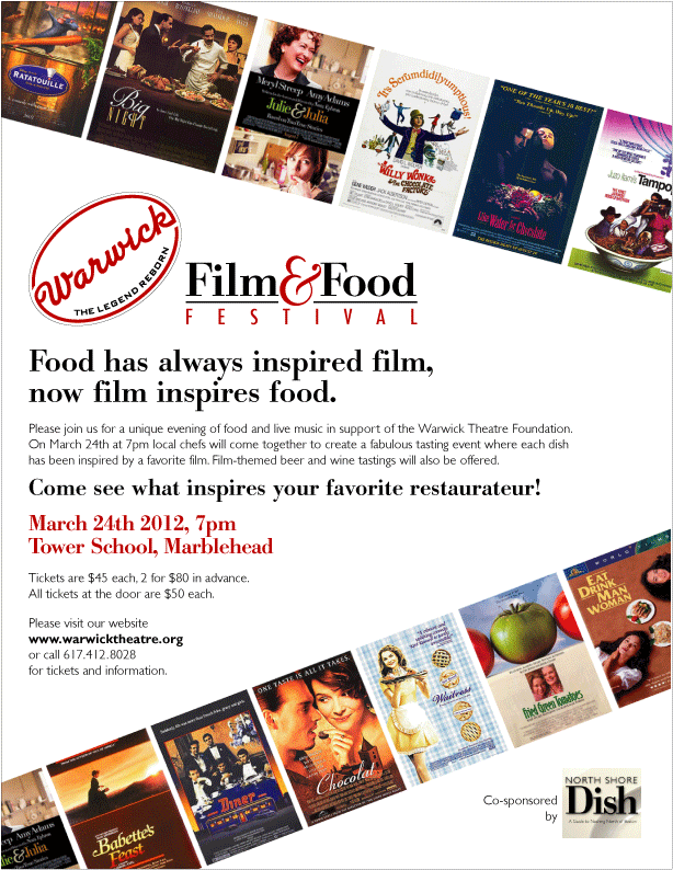 Film and Food Poster