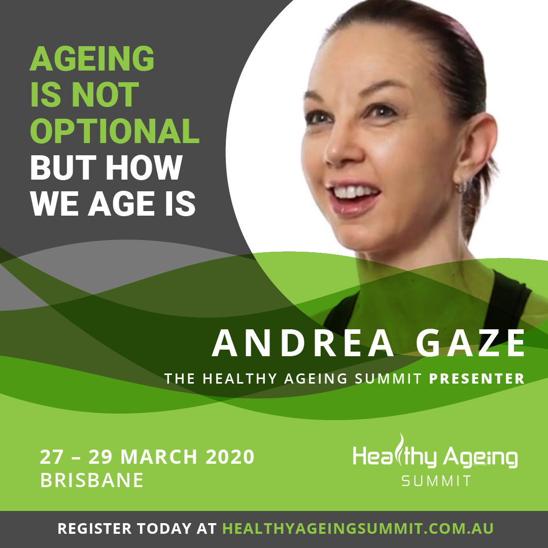 Andrea Gaze - Healthy Ageing Summit 2020 Presenter - Mobility Matters