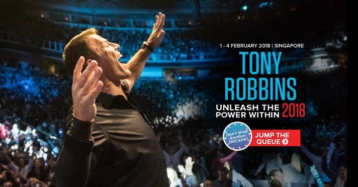 Tony Robbins Unleash the Power Within UPW Singapore  Feb 2018