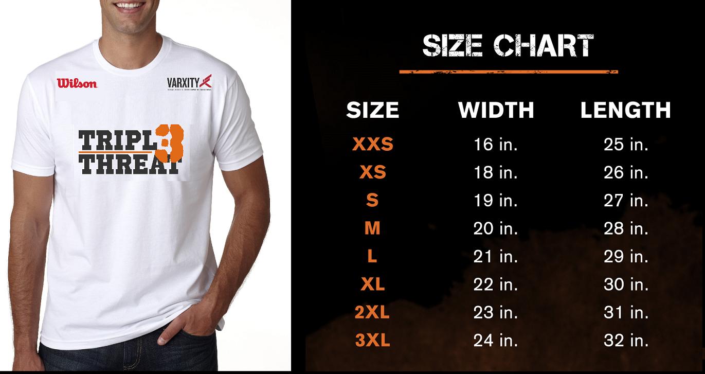 Triple Threat Manila Drifit Shirt