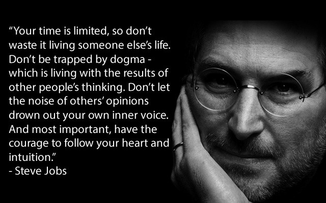 Your Time is Limited by Steve Jobs