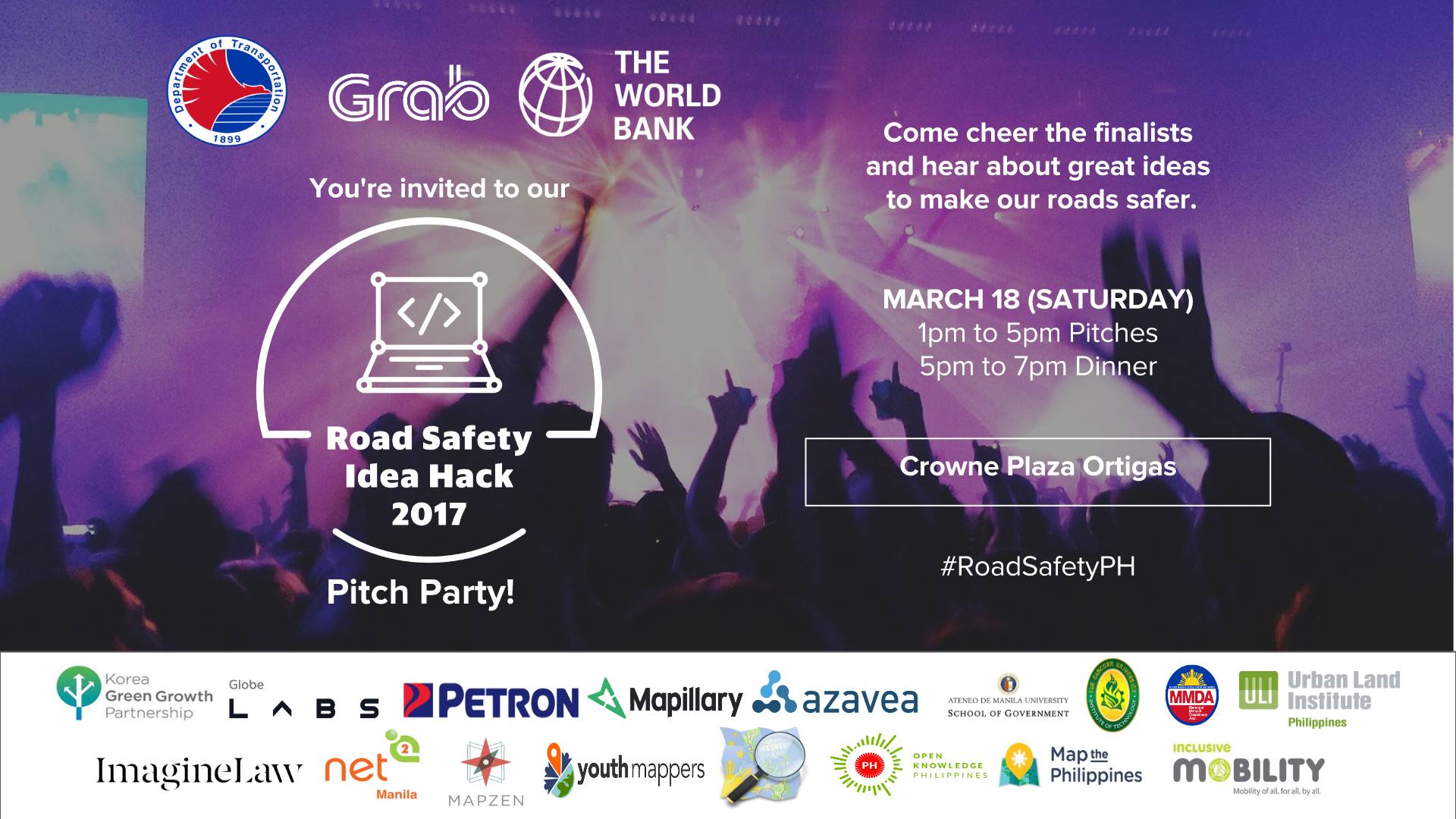 Pitch Party: Road Safety Idea Hack