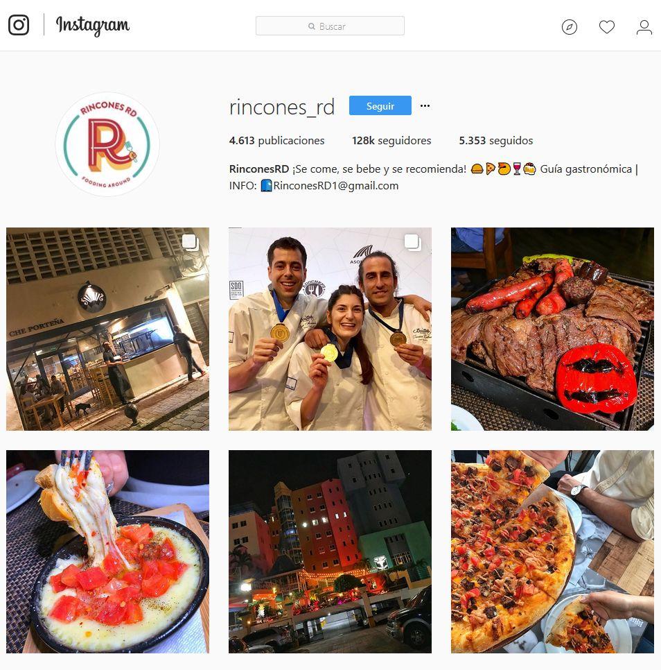 Instagram de Rincones RD