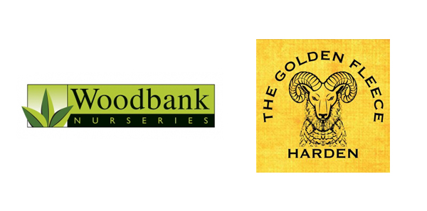 Woodbank Nurseries Ltd and Golden Fleece logos