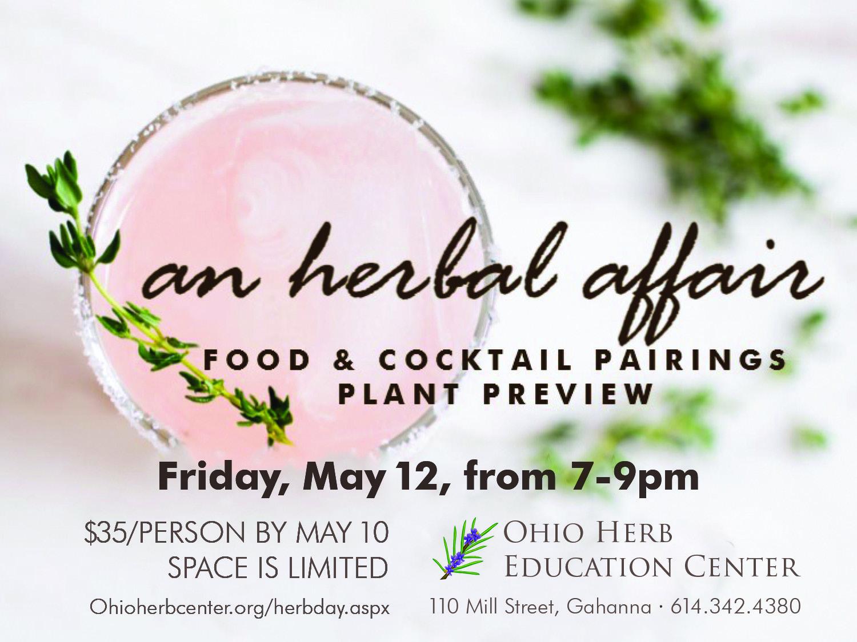 Herbal Affair Postcard