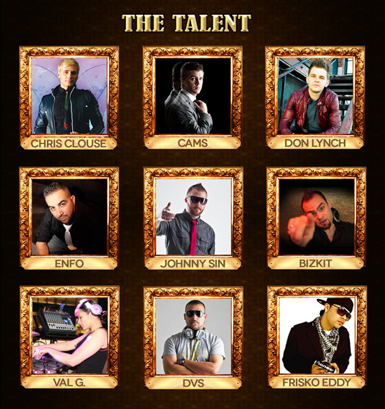 NYE Massive Talent