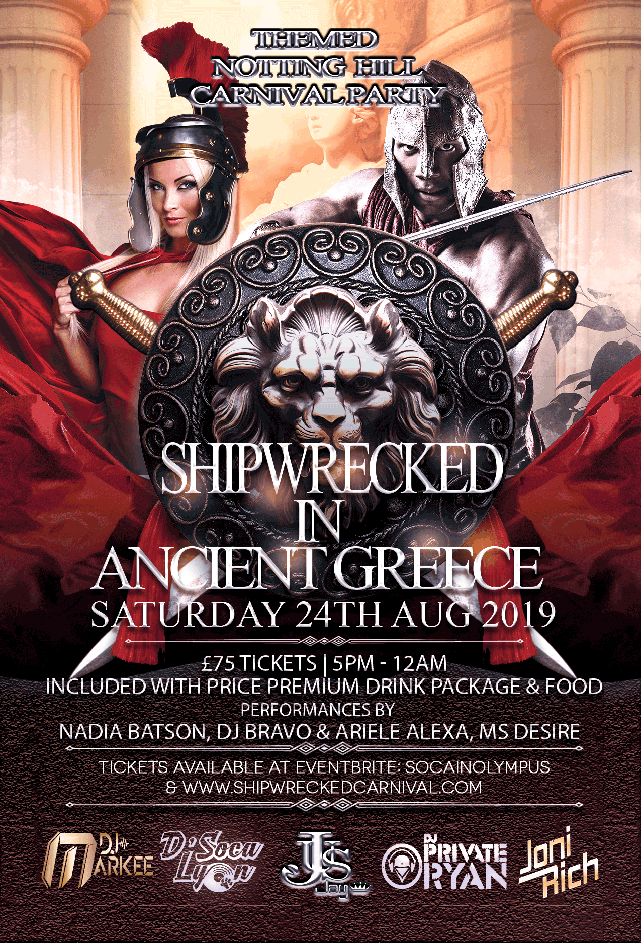 Ancient Greece Flyer