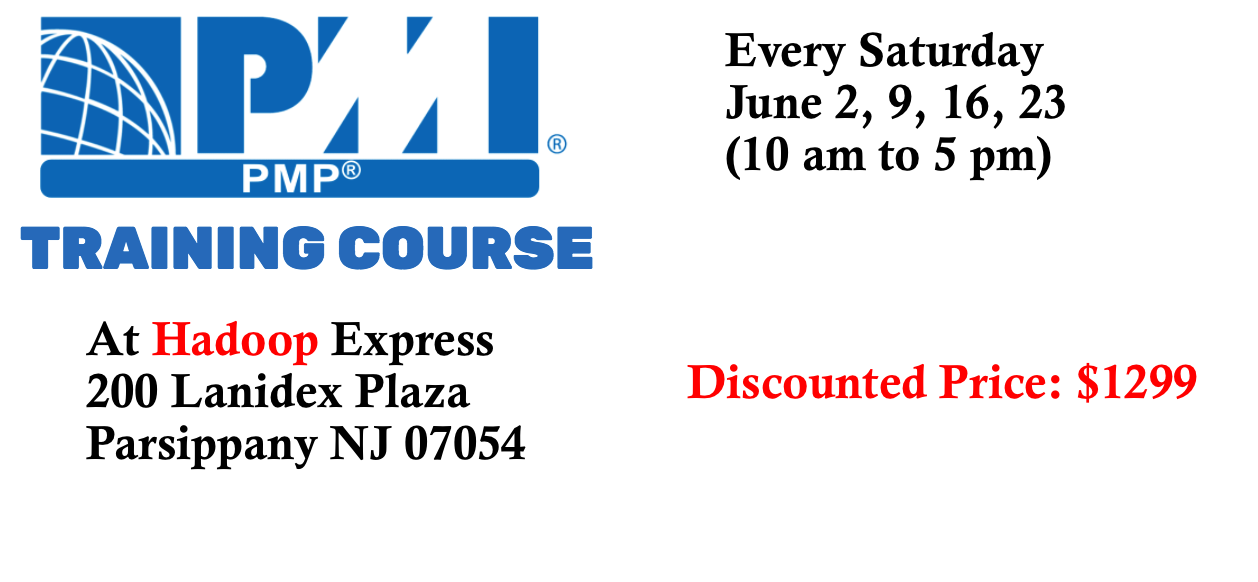 PMP Course at Hadoop Express
