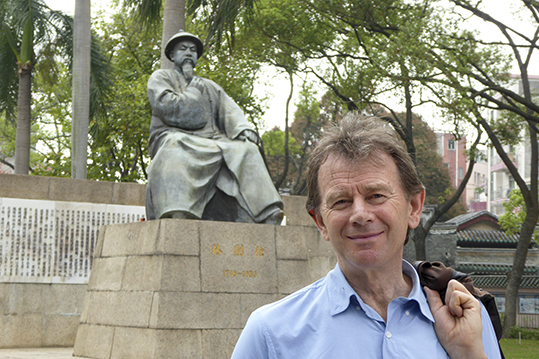 Historian, broadcaster and story teller Michael Wood