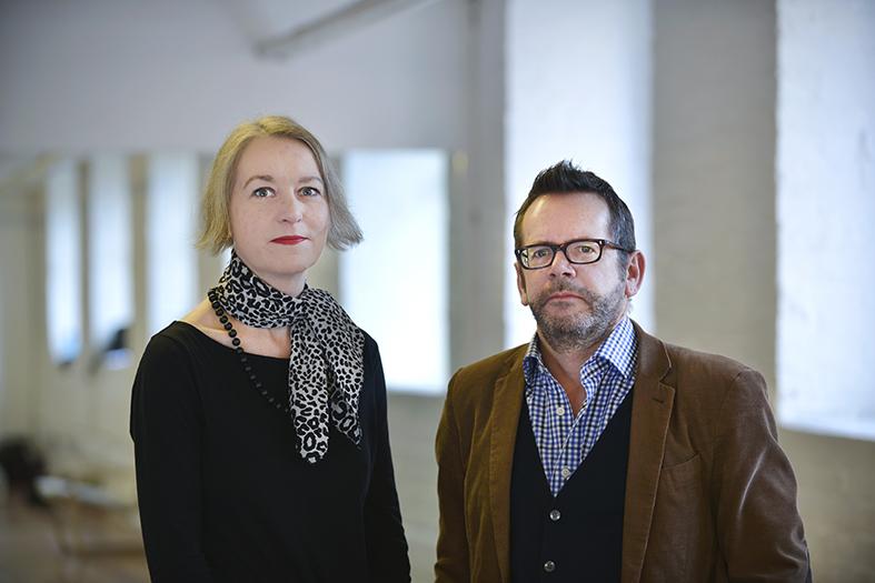 David Gaffney & Sarah-Clare Conlon, February 2013. Image by Kezia Tan