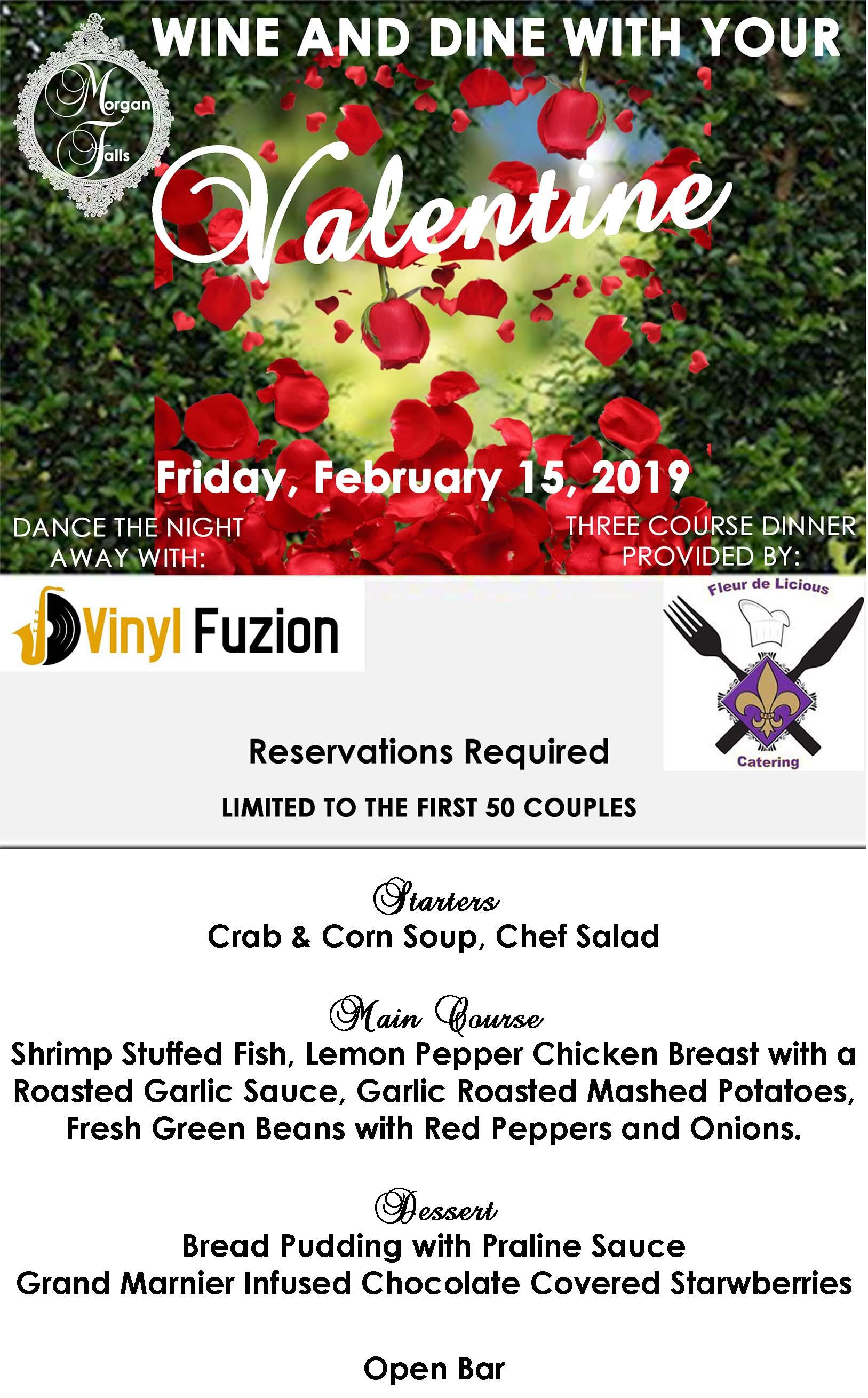 Morgan Falls Valentine Event 2019