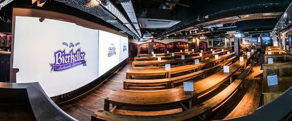 Bierkeller Manchester Printworks - MUST Chubb Club venue