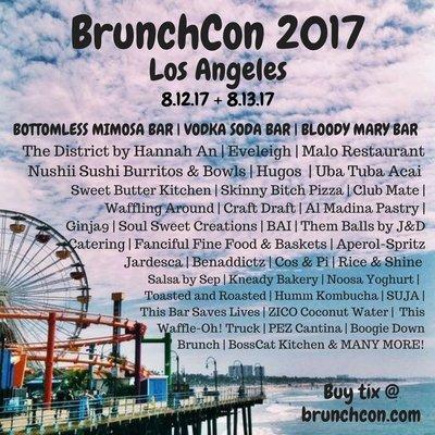 BrunchCon Line-Up