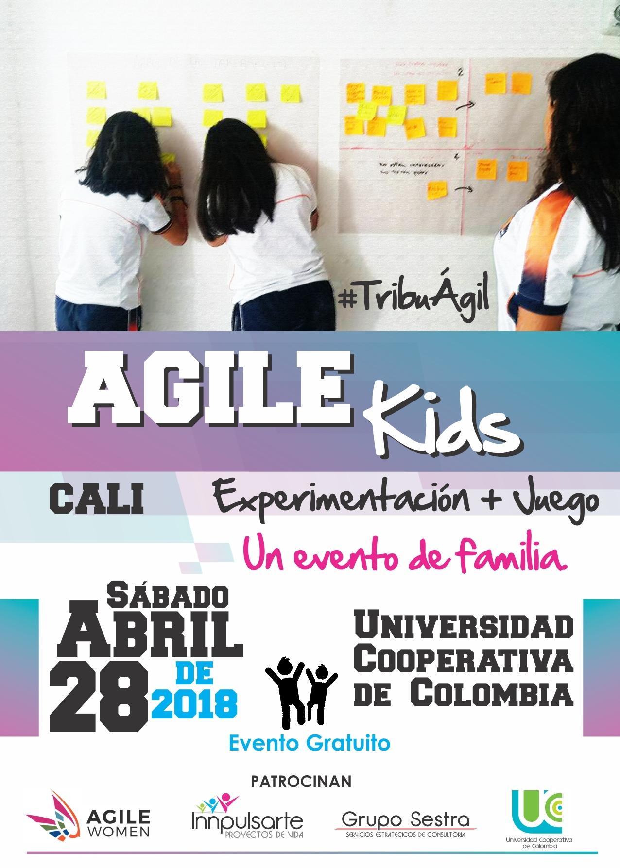 Invitación a Agile Kids Cali - Colombia