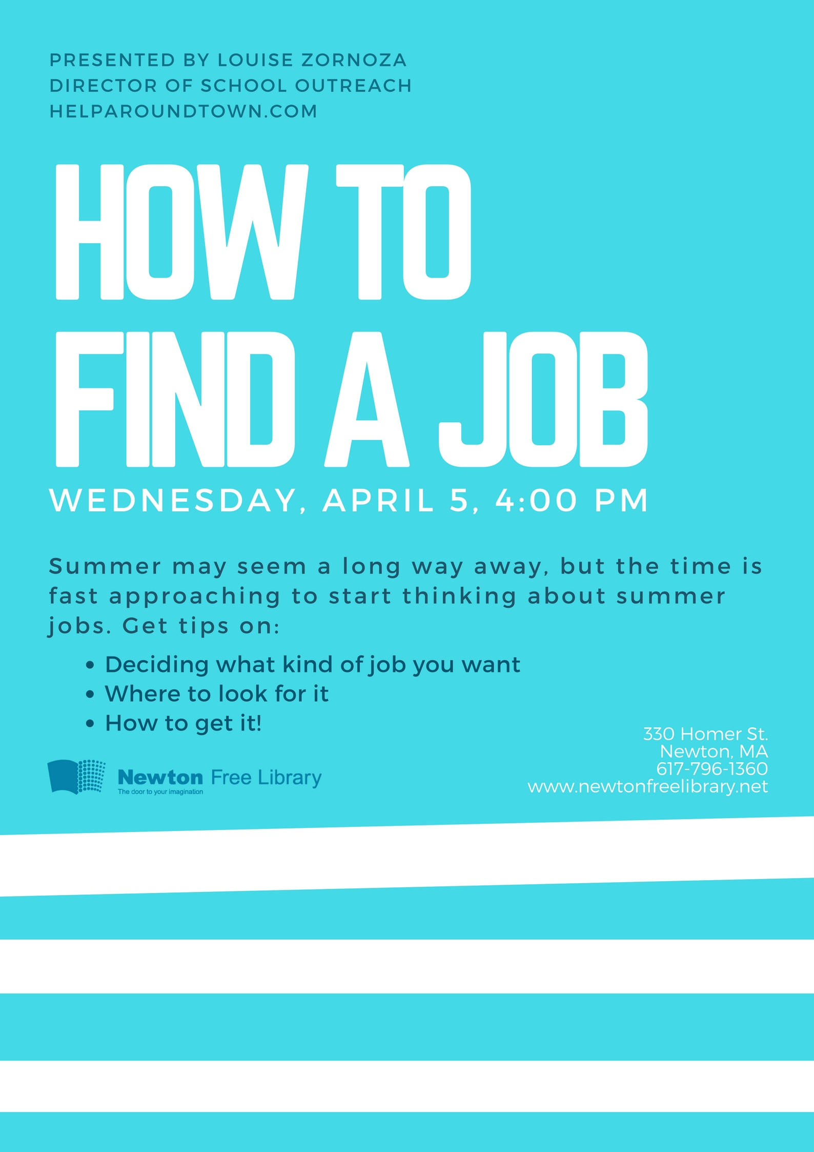 how to a job tickets wed apr at pm eventbrite it s good to have a job in high school and how to one we ll also be spending time working on reacutesumeacutes grades 9 12 second floor computer center