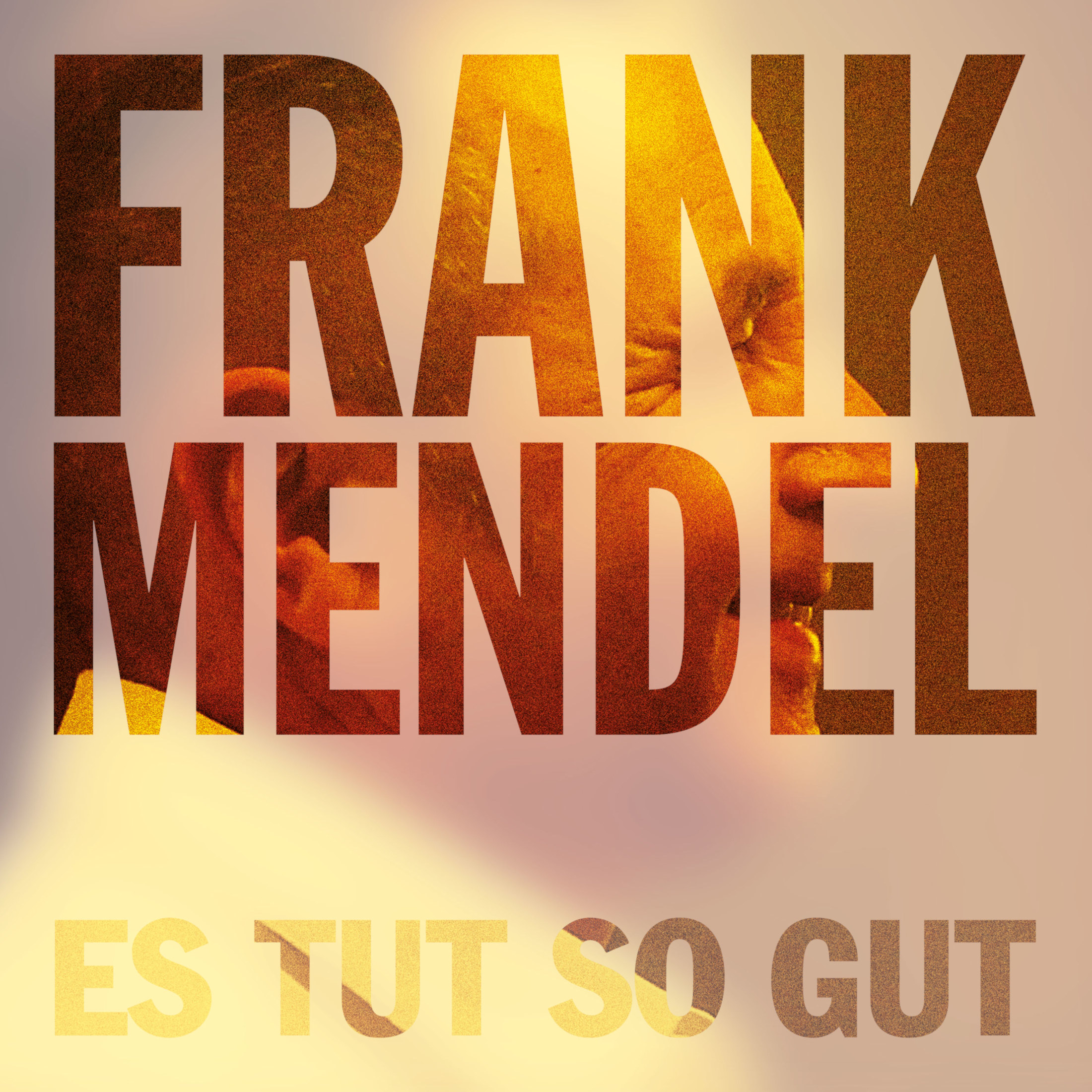 Frank Mendel, Es tut so gut, Single-Cover