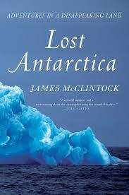 Photo of book, Lost Antarctica