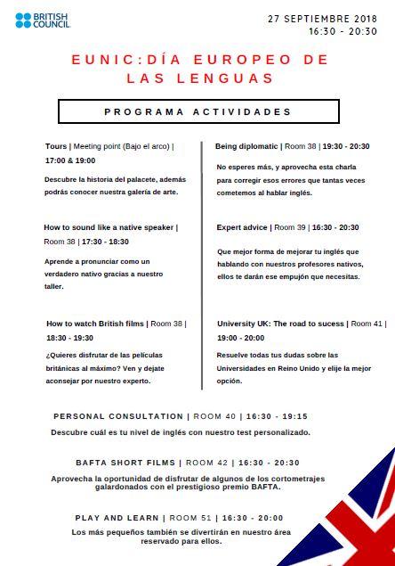Programa evento EUNIC