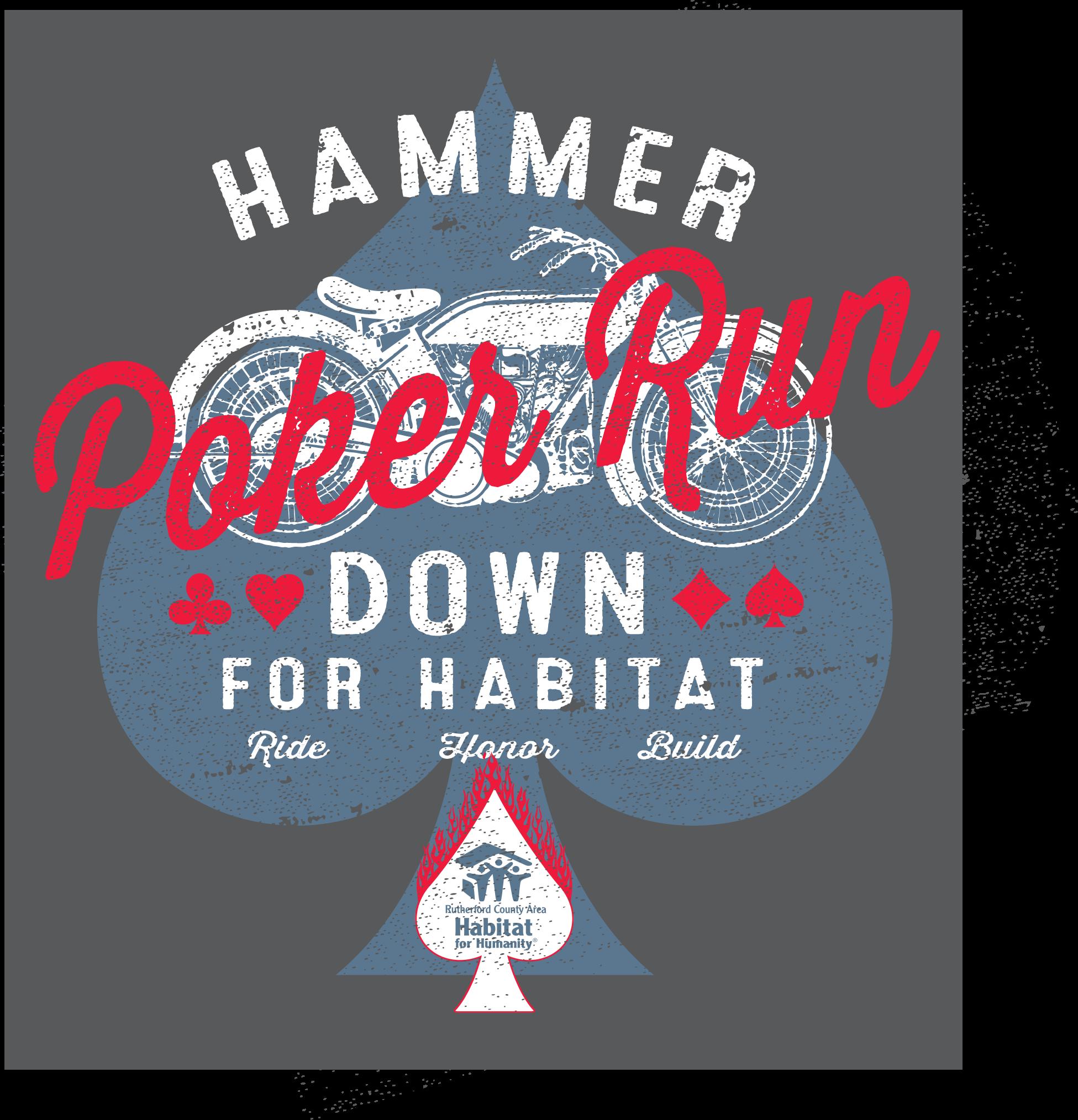 2019 Hammer Down T-shirt design