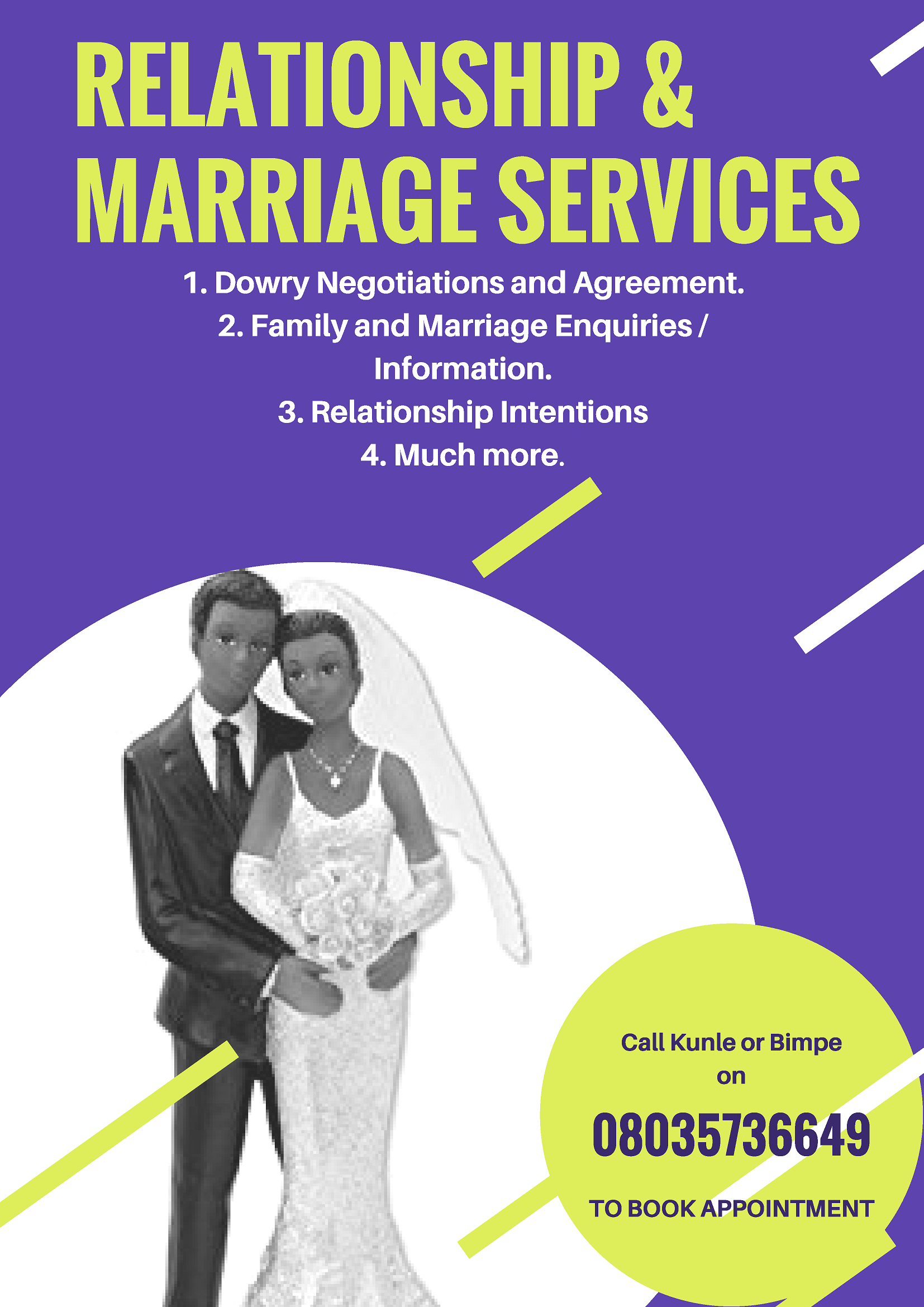 RELATIONSHIP & MARRIAGE SERVICES