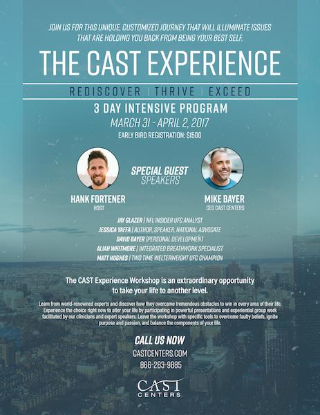 CAST Experience - Cast Centers