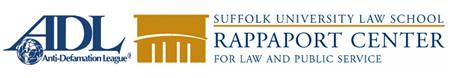 ADL and Rappaport Center logos