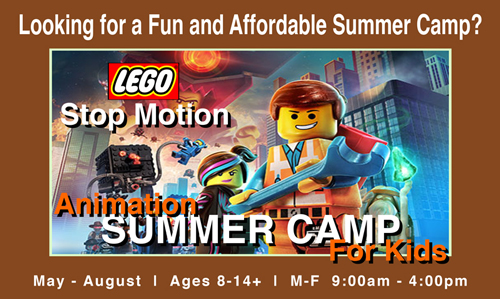 Affordable Summer Camp - Animation for Kids