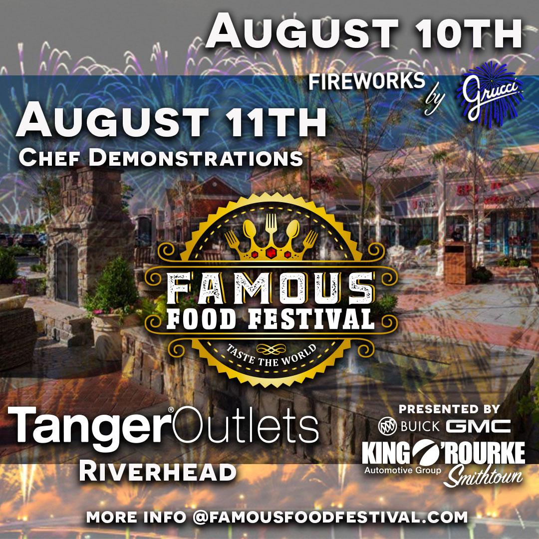Famous Food Festival August Promo