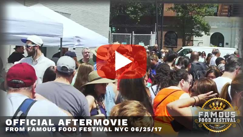 Aftermovie from the last famous food festival
