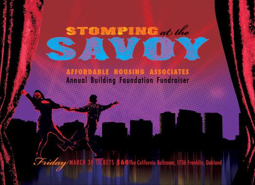 Stomping at the Savoy Invitation